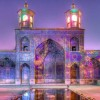 Оваа сончева џамија во Иран е калеидоскоп од бои