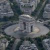 Прекрасниот Париз снимен од воздушна перспектива!