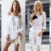 Бели модни предлози за оваа пролет