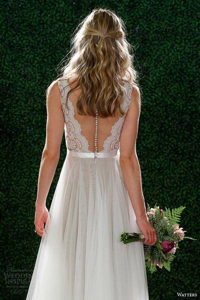 watters-spring-2015-bridal-sleeveless-wedding-dress-style-6049b-santina-illusion-back-view