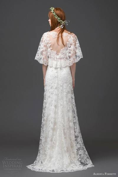 alberta-ferretti-bridal-2015-lace-wedding-dress-flutter-sleeves-antares-back-view
