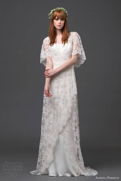 alberta-ferretti-bridal-2015-lace-wedding-dress-flutter-sleeves-antares