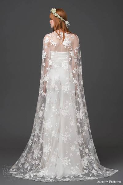 alberta-ferretti-bridal-2015-strapless-wedding-dress-lace-cape-altair-back-view-train