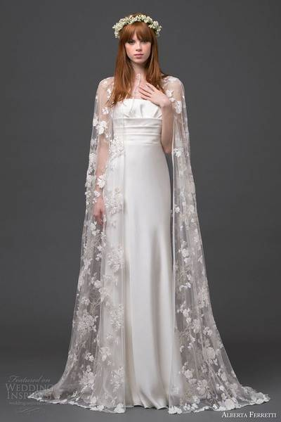 alberta-ferretti-bridal-2015-strapless-wedding-dress-lace-cape-altair-front-view-train
