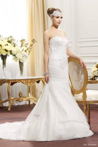 val-stefani-fall-2014-strapless-wedding-dress-d8071-front-view-2