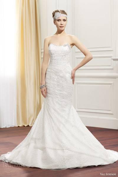 val-stefani-fall-2014-strapless-wedding-dress-d8071-front-view