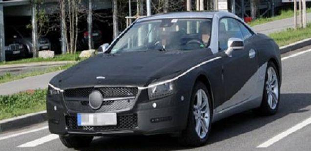 Mercedes SL, 2012