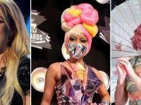 Стајлингот на ѕвездите на MTV Video Music Awards! Црно vs шарено:)