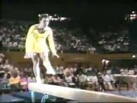 Буквално машка комедијантска гимнастичарка:)