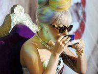 Гага не е зелка, туку индиски хипик:)