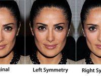 Какви би биле кога би имале перфектна симетрија на лицето?