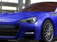 Subaru BRZ STi концепт- првите официјални фотографии