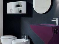 Виолетово – црно во бањата!