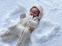 Ангелчиња во снегот