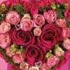 Прекрасни невестински букети во форма на срце