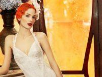 Прекрасни ЈоланКрис венчаници во ретро стил
