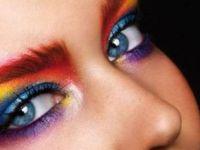 Силни бои на очите