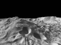 Ресилвиа Монс највисоката планина во Сончевиот систем