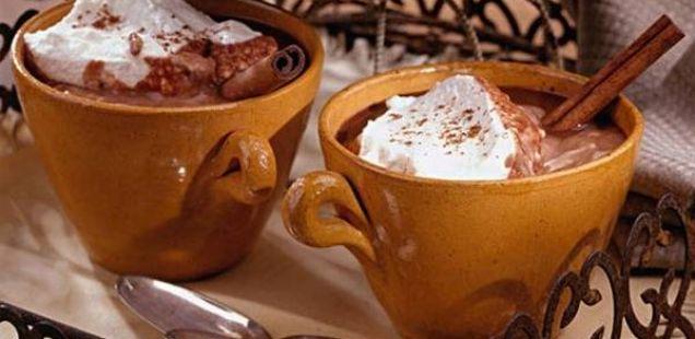 Домашно топло чоколадо