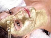 Златна маска за лице која подмладува