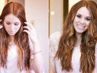 Направете сами нежни кадрици на вашата коса