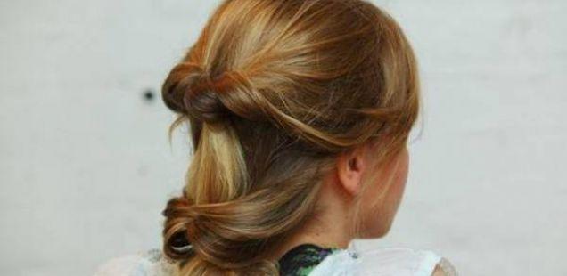 Направете сами: Ефектна фризура