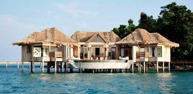 Два приватни острови потопени во луксуз