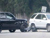 Дејвид Бекам и неговиот син доживеаа мала сообраќајна несреќа