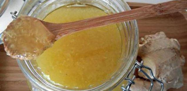 Едноставен и лековит рецепт:  Ѓумбир и мед