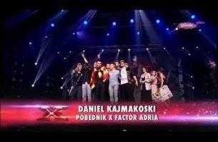 Даниел Кајмаковски, победникот на X Factor:)