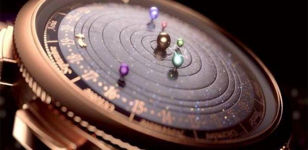 VAN CLEEF&ARPELS – Полноќен планетариум