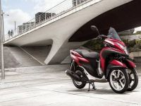 Yamaha Tricity е идеален мотор на три тркала