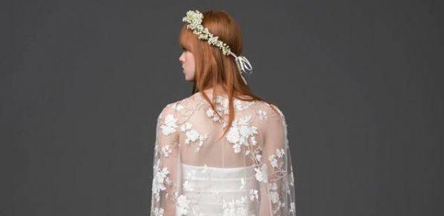 Alberta Feretti со невестински фустани за 2014