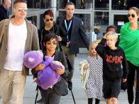 """Фамилирајно остварување: Анџелина и Бред ќе се појават заедно со децата во филмот """"Клеопатра"""""""