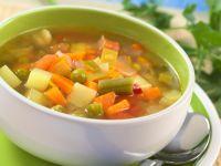 Летна чорба од зеленчук