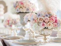 Нежна и романтична розова декорација за свадба