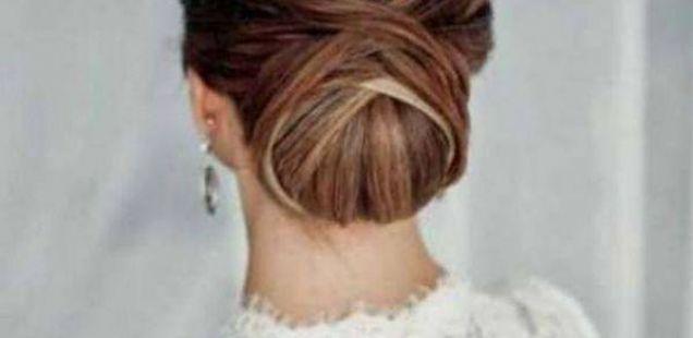 Впечатливи невестински фризури