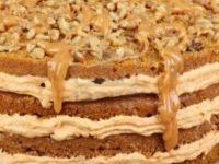 "Торта ""Лешник – карамел"""