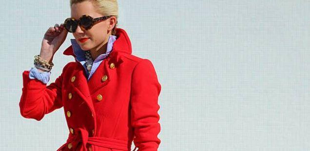 Секогаш во мода: Црвен капут