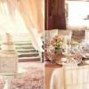 Рустикални свадбени аранжмани