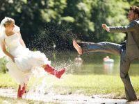 Дожд на денот на венчавката, значи среќа за младите