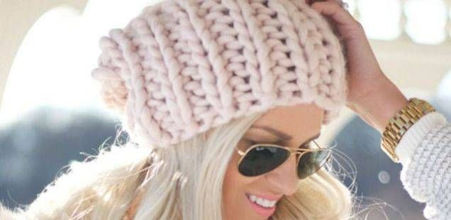 Плетени капи за студените денови