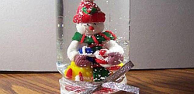 Сами направете снежна кугла