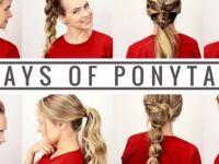 Седум лесни фризури за секој ден од неделата