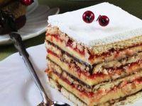 Посна Капри торта