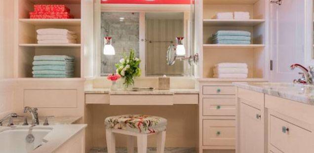 Паметни решенија: Организирајте ги ситниците во вашата бања