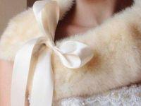 За зимска свадба изберете болеро од крзно