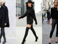 Црни модни комбинации кои ќе ги обожавате