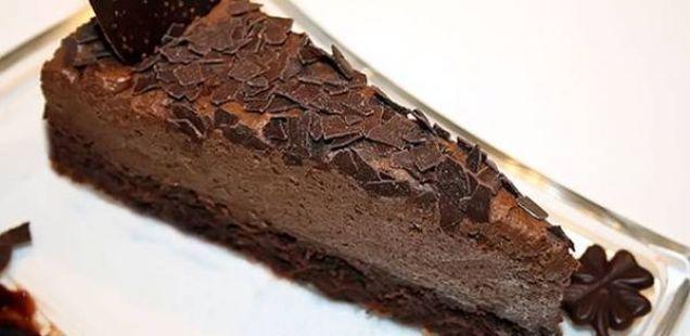 Торта со чоколадо и капучино