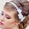 Свадбена фризура со крената коса